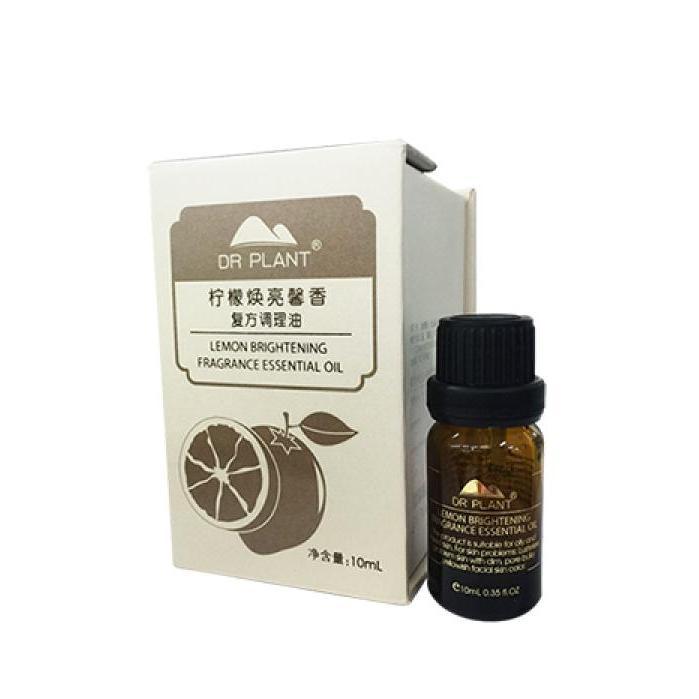 DR PLANT檸檬煥亮馨香復方調理油
